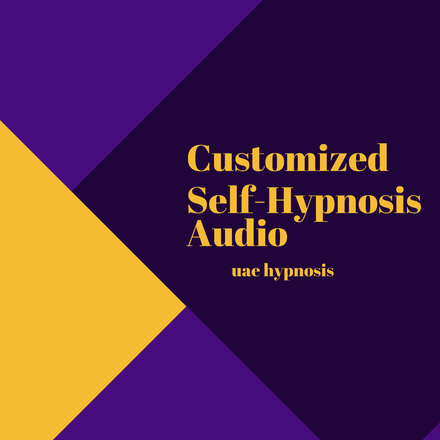 customized self hypnosis audio
