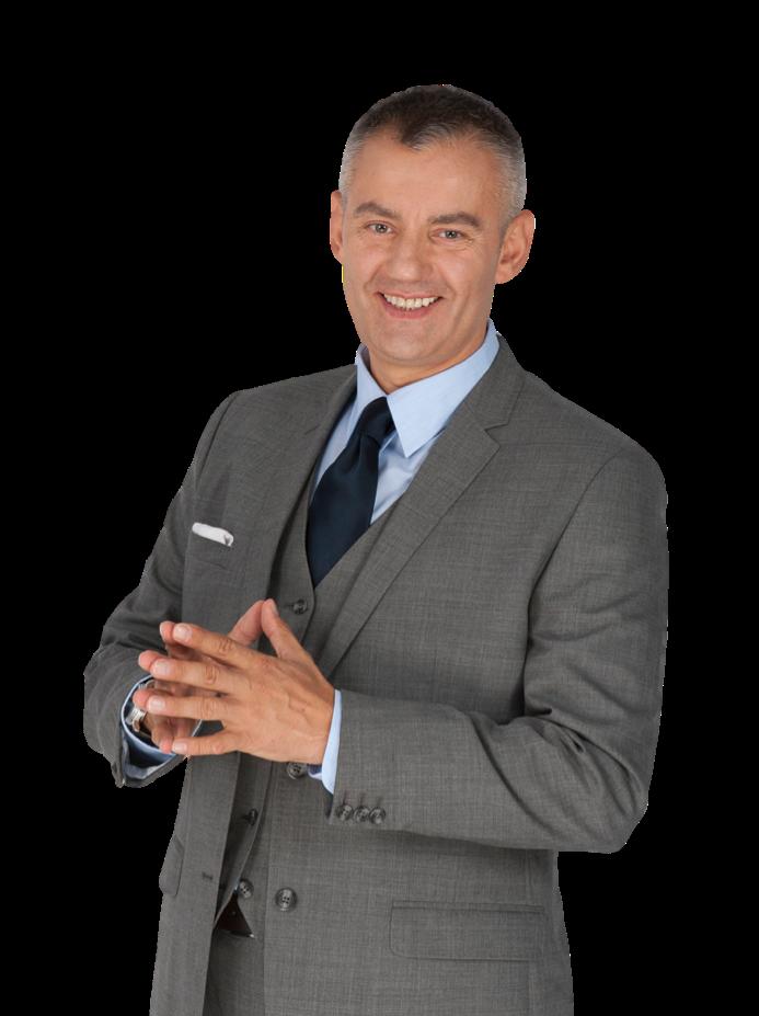 Dubai hypnotherapist, Adrian Rusin