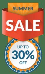 Summer Sale 30% discount