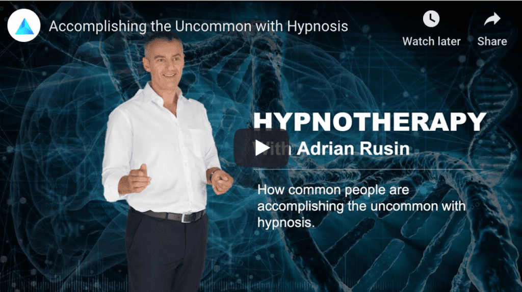 Hypnotherapy Dubai with Adrian Rusin