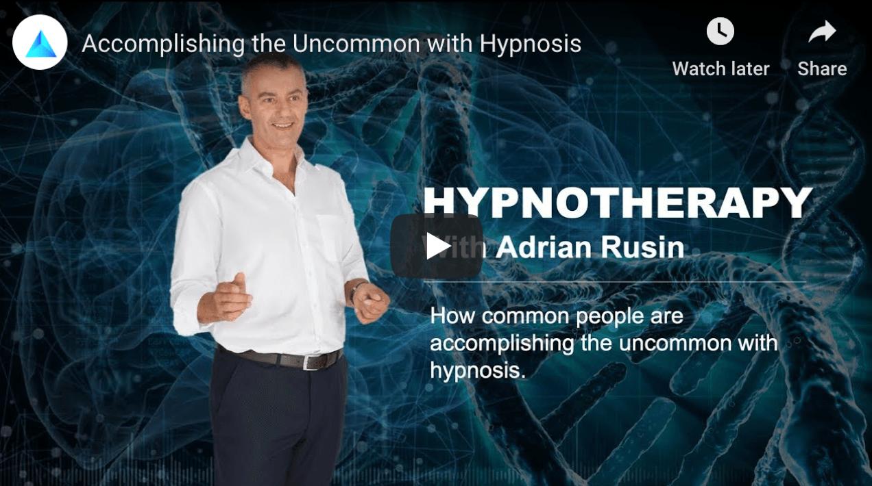 Hypnotherapy Dubai with Adrian Rusin