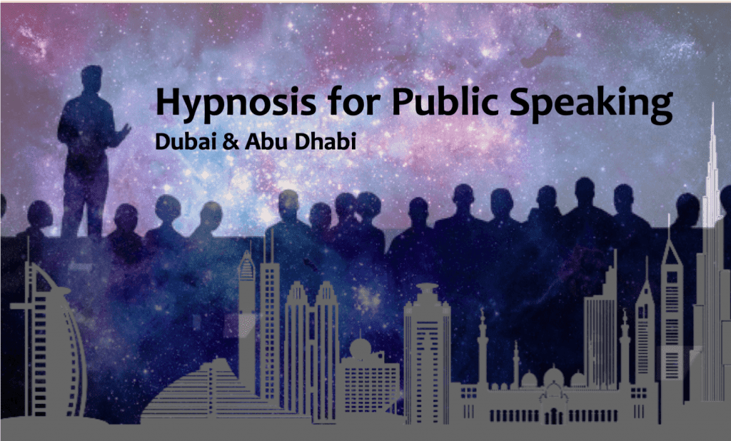 hypnotherapy for public speaking dubai